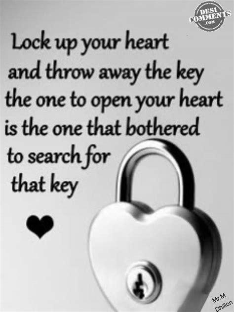 lock   heart desicommentscom