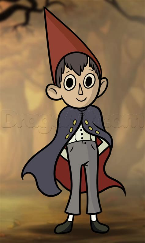 the garden wall how to draw wirt from the garden wall step by step