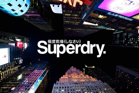 brand case study  superdry appeal  branding journal