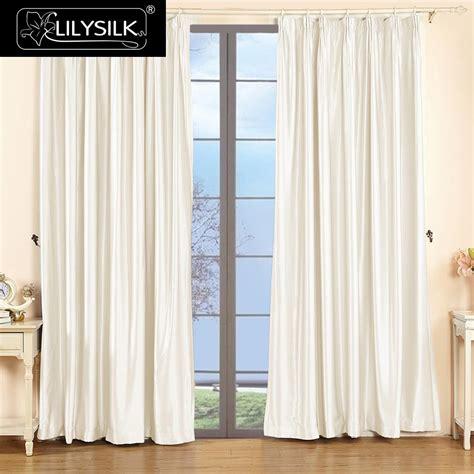 curtain pinch pleated panels wonderful lilysilk silk