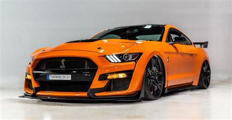 ford mustang gt ps 770 ps 2019 ford mustang shelby gt 500 widebody vorgestellt