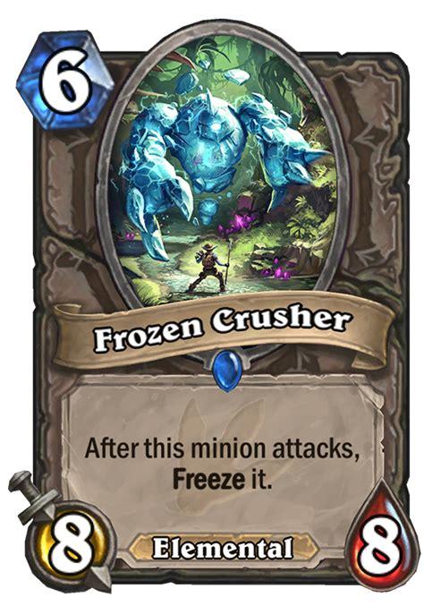 frozen crusher hearthstone card