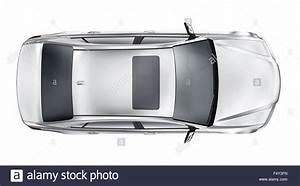Voiture Vu De Haut : silver car top view stock photo 89105961 alamy ~ Medecine-chirurgie-esthetiques.com Avis de Voitures