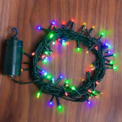 lights com string lights christmas lights multicolor 64 led battery string lights with timer