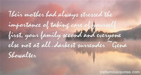Importance Of Family Quotes Quotesgram