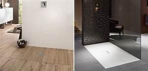 Receveur Salle De Bain : receveurs de douche infinity de villeroy boch d co salle de bains ~ Melissatoandfro.com Idées de Décoration