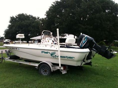 Bay Boats For Sale In Lafayette La by 2001 Fishmaster Bay Boat For Sale In Lafayette Louisiana