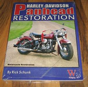 Harley Davidson Panhead Restoration Guide  Book  Manual Rick