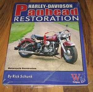 Harley Davidson Panhead Restoration Guide  Book  Manual Rick