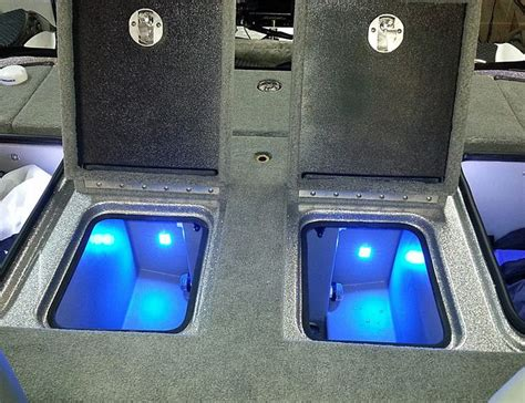 Skeeter Bass Boat Livewell Operation by Beam Livewell Cooler Led Light Pair Submersible