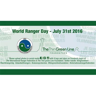 Do you stand with rangers on World Ranger Day? - EUROPARC