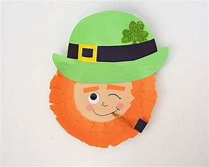 paper plate masks 62 creative ideas guide patterns With leprechaun mask template
