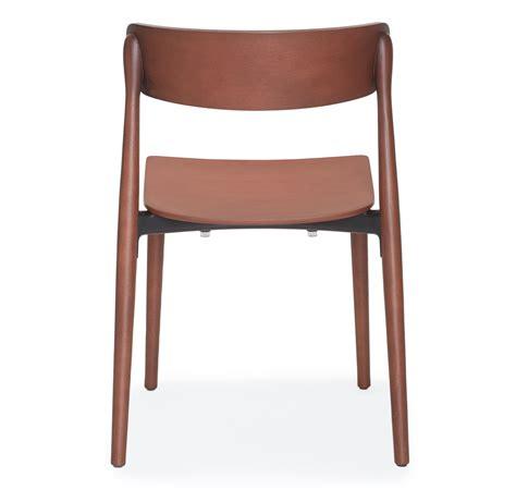 chaise pedrali pedrali chair nemea 2820 ash wood newformsdesign modern