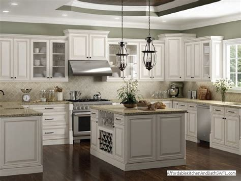 kitchens white cabinets affordable kitchen and bath fort myers florida 3572
