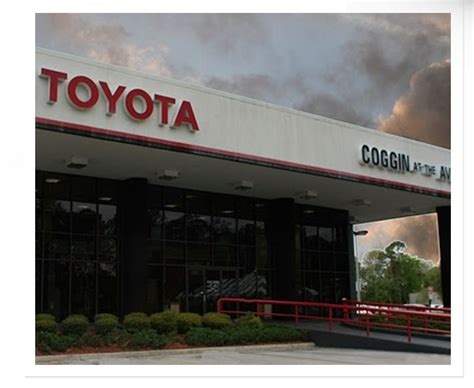 Toyota At The Avenues by Coggin Toyota At The Avenues In Jacksonville In