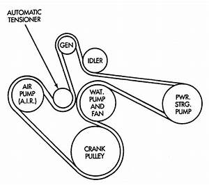 Diagram  Dodge 5 7 Hemi Serpentine Belt Diagram Full