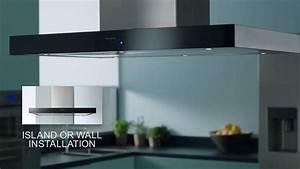 Panasonic Integrated Kitchen Design Cooker Hood The