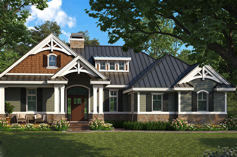 House Plans by Craftsman Home Plan 2 Bedrms 2 Baths 1610 Sq Ft