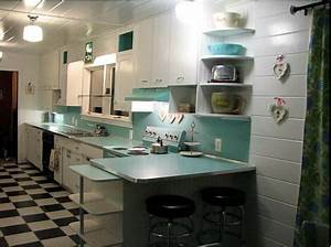 Create a large, fabulous retro kitchen and breakfast room