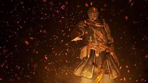 Rendering, I, Made, Of, The, Elite, Knight, Lighting, A, Bonfire, Darksouls