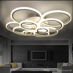 Ceiling light fixture for large living room