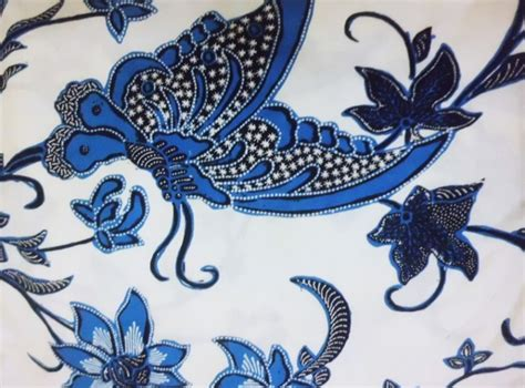 Gambar Batik Flora Fauna Chilangomadrid Com