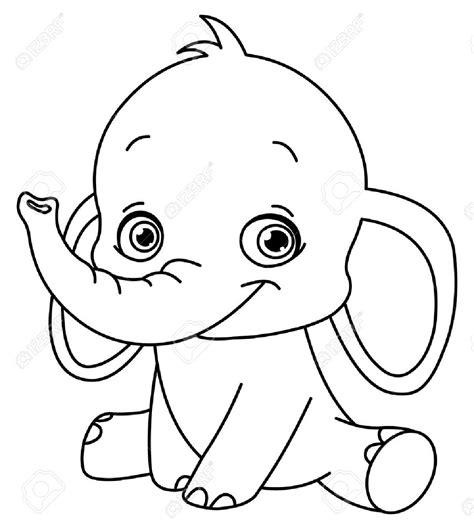 elephant clipart outline trunk up elephant with trunk up clipart clipartxtras