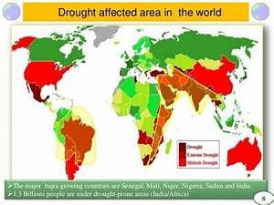 Drought Prone Areas In World Map | Timekeeperwatches