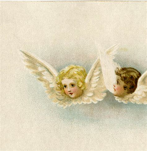 vintage angels clip art sweet  graphics fairy