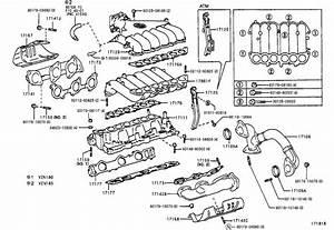 Toyota 4runner Engine Intake Manifold Gasket  Spec