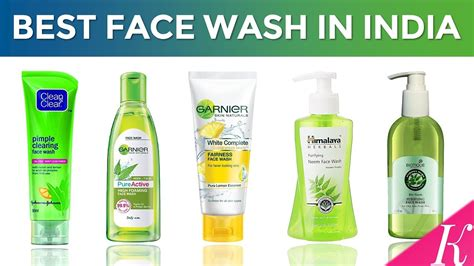 10 Best Face Wash In India With Price  Face Washes For