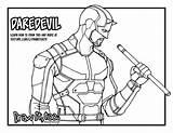 Daredevil Drawing Draw Netflix Drawittoo Coloring Too Bullseye Season Template Sketch Pencil sketch template
