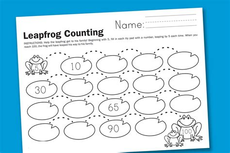 skip counting by 10 worksheets for kindergarten