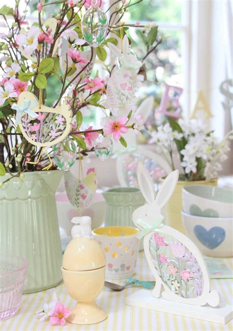decorating  easter pastel easter decorations