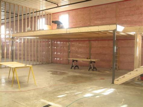 building a garage build garage storage loft photos home plans blueprints