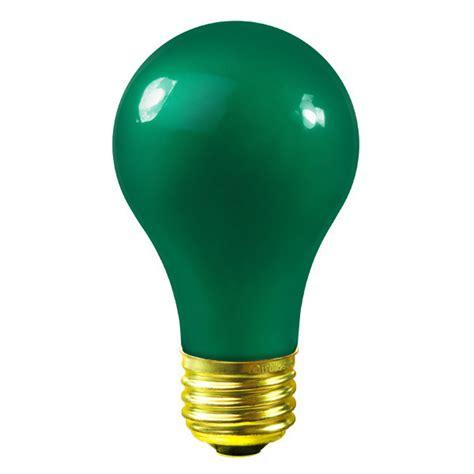green light bulbs satco s6091 25 watt green light bulb