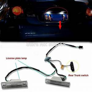 2017 2009 2012 Chevrolet Cruze License Plate Light And Rear Trunk Switch Button Assembly From