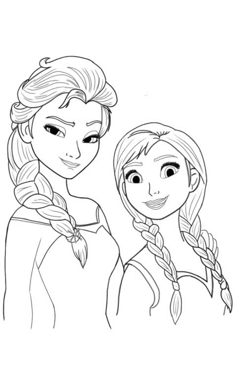 halloween coloring sheets elsa  anna coloring pages