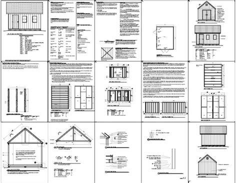 12x16 Shed Material List by Shed Plans 12 215 16 Free Construct Your Own Shed By Way Of