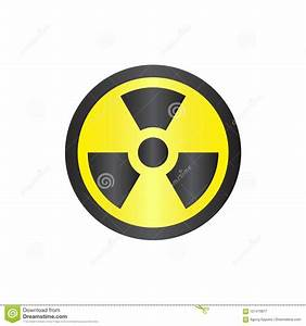 Radiation Nuclear Danger Sign Symbol Vector Stock Vector