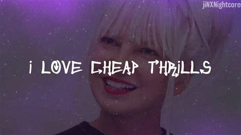 Cheap Thrills (lyrics)