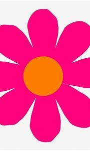 Pink Flower Clip Art At Clkercom Vector Online - Clip Art ...