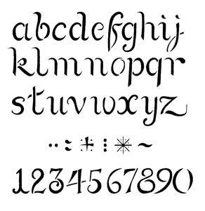 de plantilla stencil abecedario 26x20 cm letras 2 cm plantillas de letras