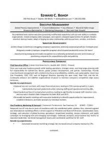 Executive Resume by Executive Manager Resume Sle