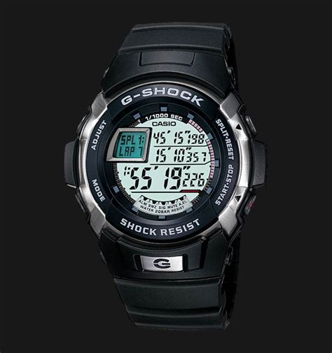 jam tangan pria best seller casio g shock transformer black blue casio g shock g 7700 1dr digital black resin band