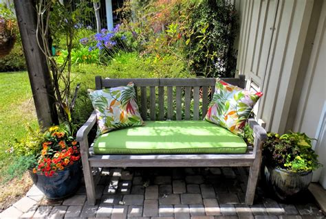 Foxy Decorations With Front Porch Bench