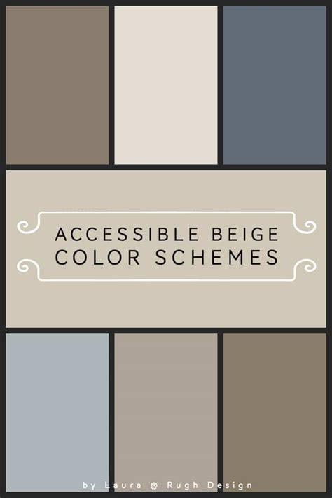 color scheme  accessible beige sw