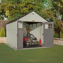 suncast tremont 174 8 x 13 storage building at menards 174