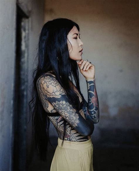 foto de Delirious Thoughts Tattooed girls models Tattoo models