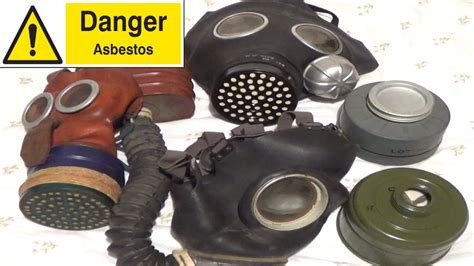 warning gas mask filters   asbestos youtube